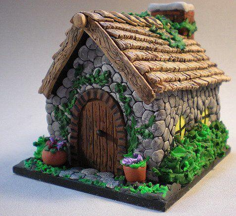 Stone cottage house