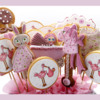 Girl's Baby Shower Cookies