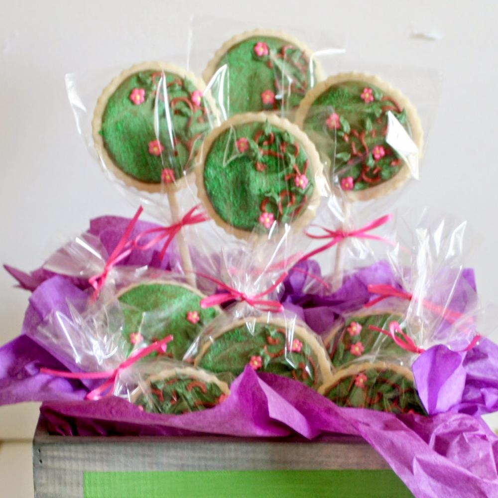 Moss and Vine Cookies