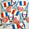 Paris, France Cookies