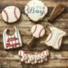 Vintage Baseball Baby Shower