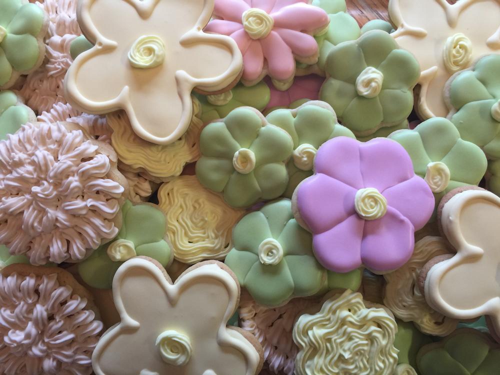 Flower cookies 2