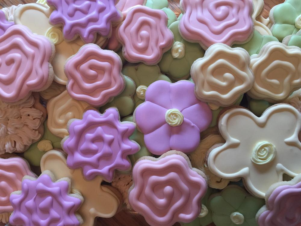 Flower cookies 3