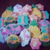 Luau Cookie Set
