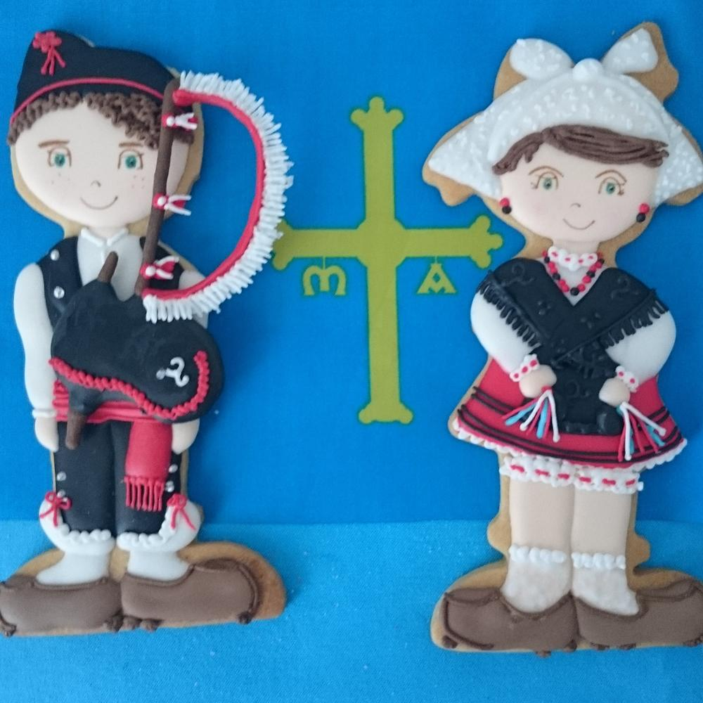 Asturian and piper