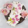 Handpainted Royal Icing Sweet Pea Cookie ️