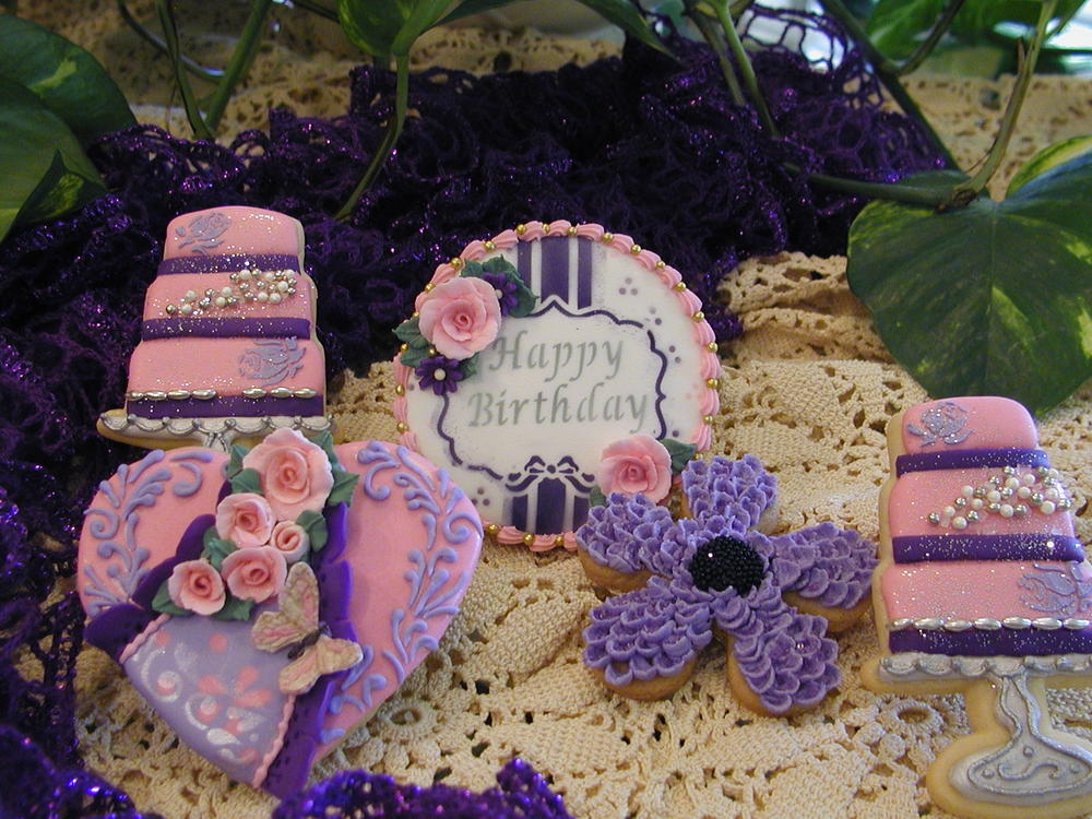 A Purple & Pink Birthday