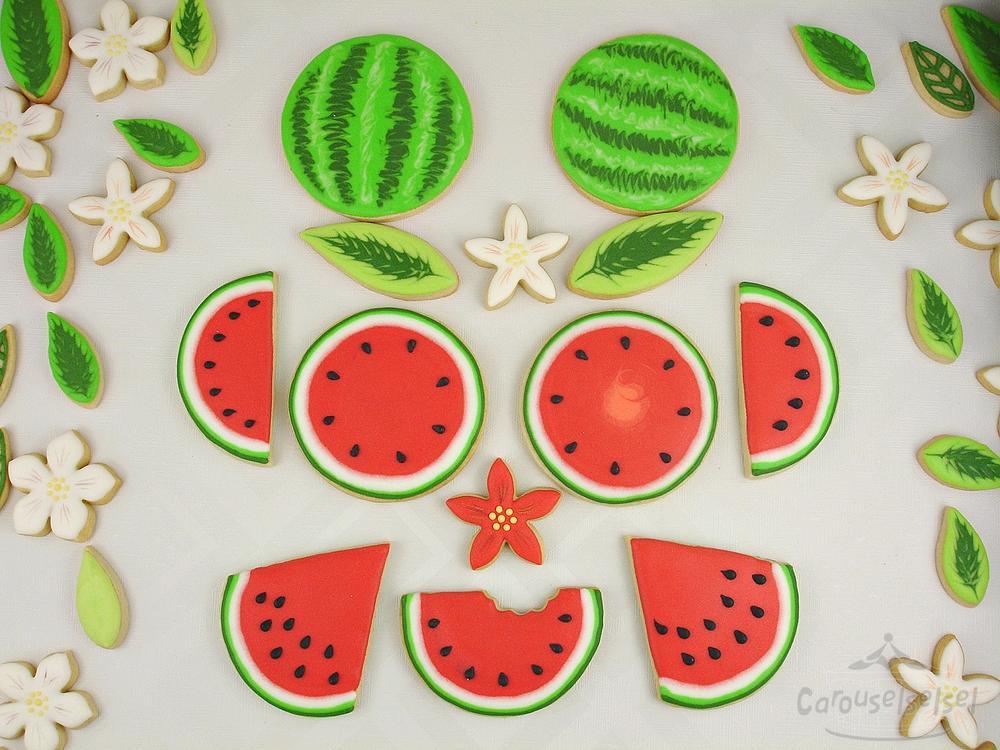 Funny Watermelon Face