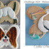 Animals with Butterfly-Shaped Cookie