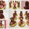 Mini Doll Placeholder Cookie Collage