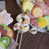 Fruit Birthday Cookie Topper