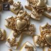 Lorena Rodriguez.  Cross cookies