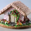 gingerbread house. Spring