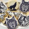 Wolf cookies