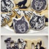 Wolf Birthday Cookies for Tom