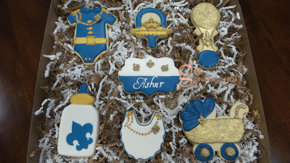Boy Baby Shower Cookie Connection