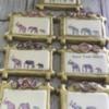 Watercolor elephants