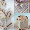 3-D Needlepoint Cookie Box Collage