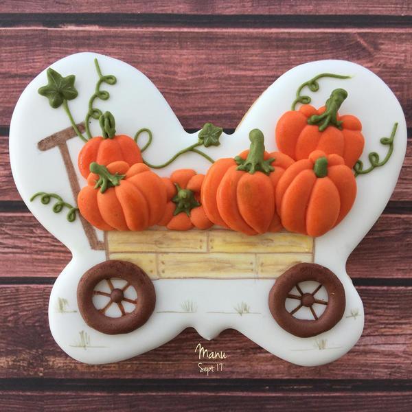 PBP #24- Pumpkin Wagon