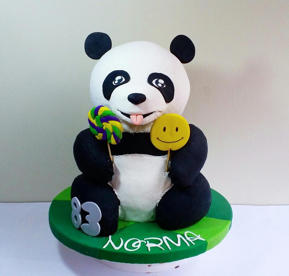 3D Panda Cake - Osito Panda