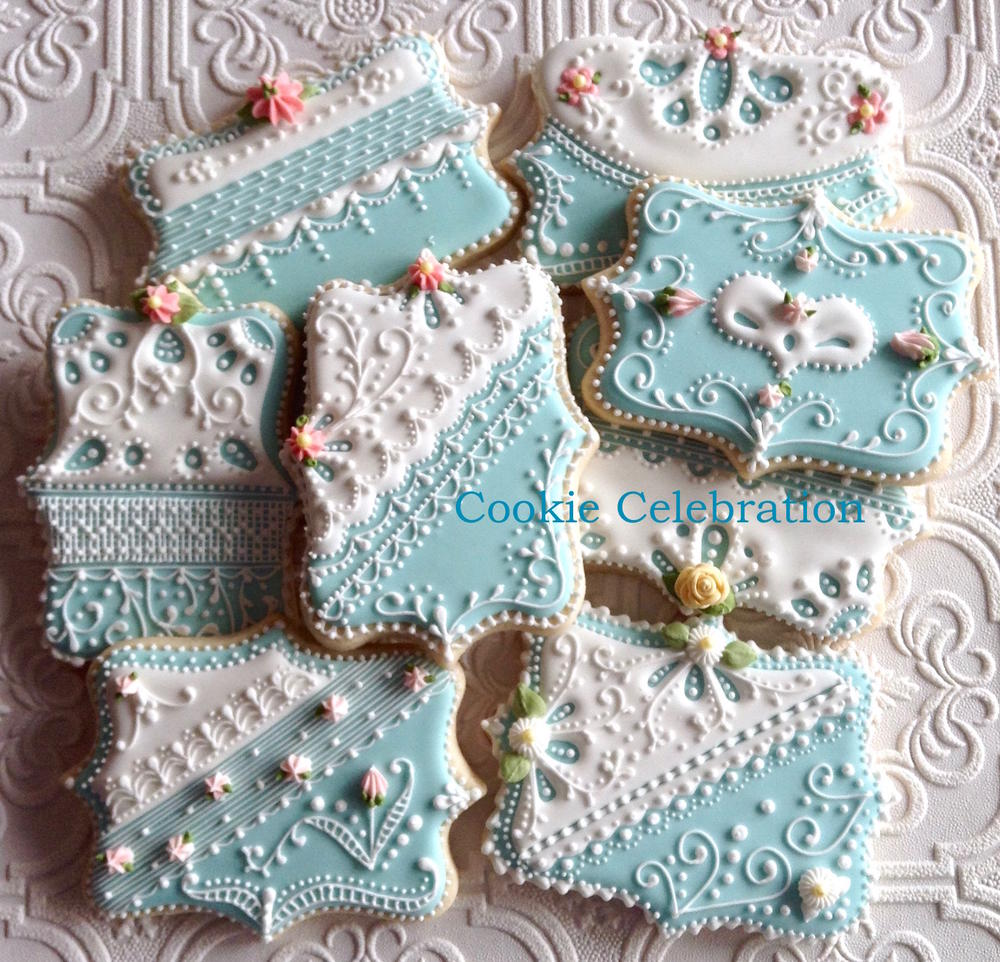 Blue and White (Cookie Celebration)