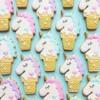 Unicorn Ice Cream Cookies