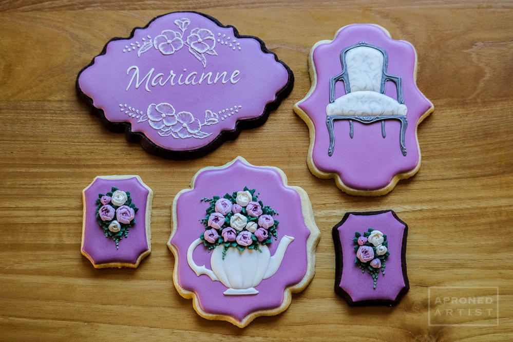 Cookies for a Ladies' Luncheon