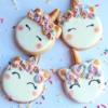 Vanilla Unicorn Cookies
