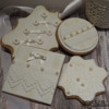 White Lace Vintage Cookies