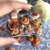 Miniature food cookie Evelindecora