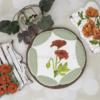 Beautiful Royal Icing Poppy Flower Cookies