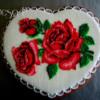 Wiśniowe róże