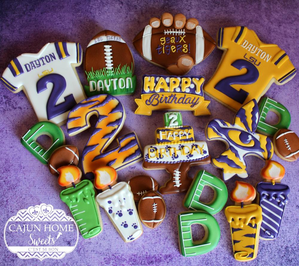 LSU Football Birthday