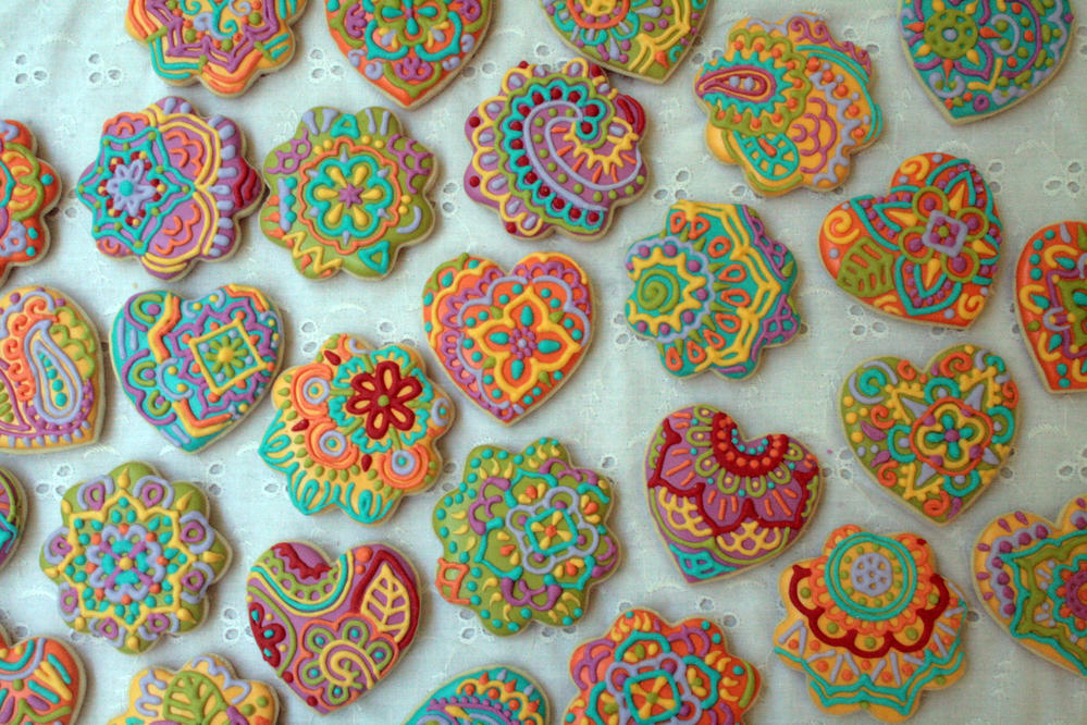 Colorful Doodles by The Woodsy Wife Bakery