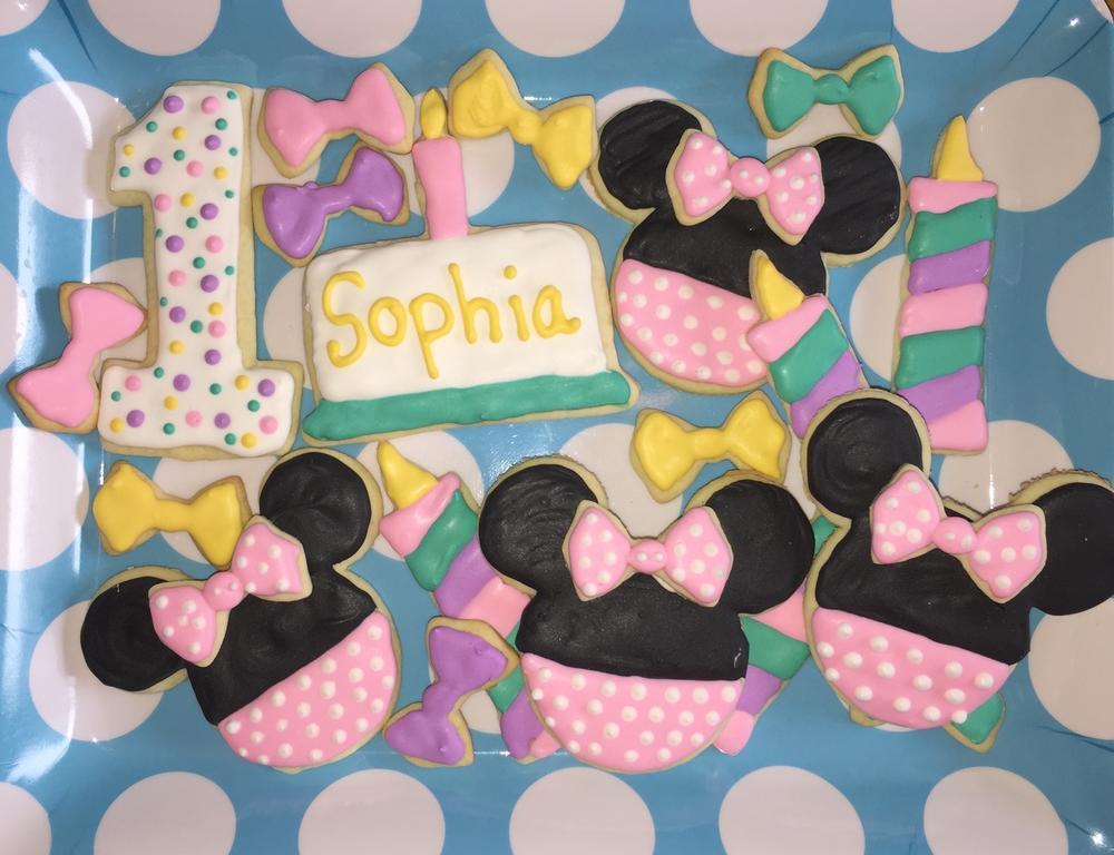 1st Birthday Minnie Mouse