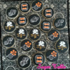 DANJIRI Fesitival cookies of 4 town's logo.