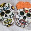 skulls  day dead