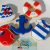 Cookies Náutica para el primer año de Benjamín!!