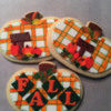 fall plaid pumpkins