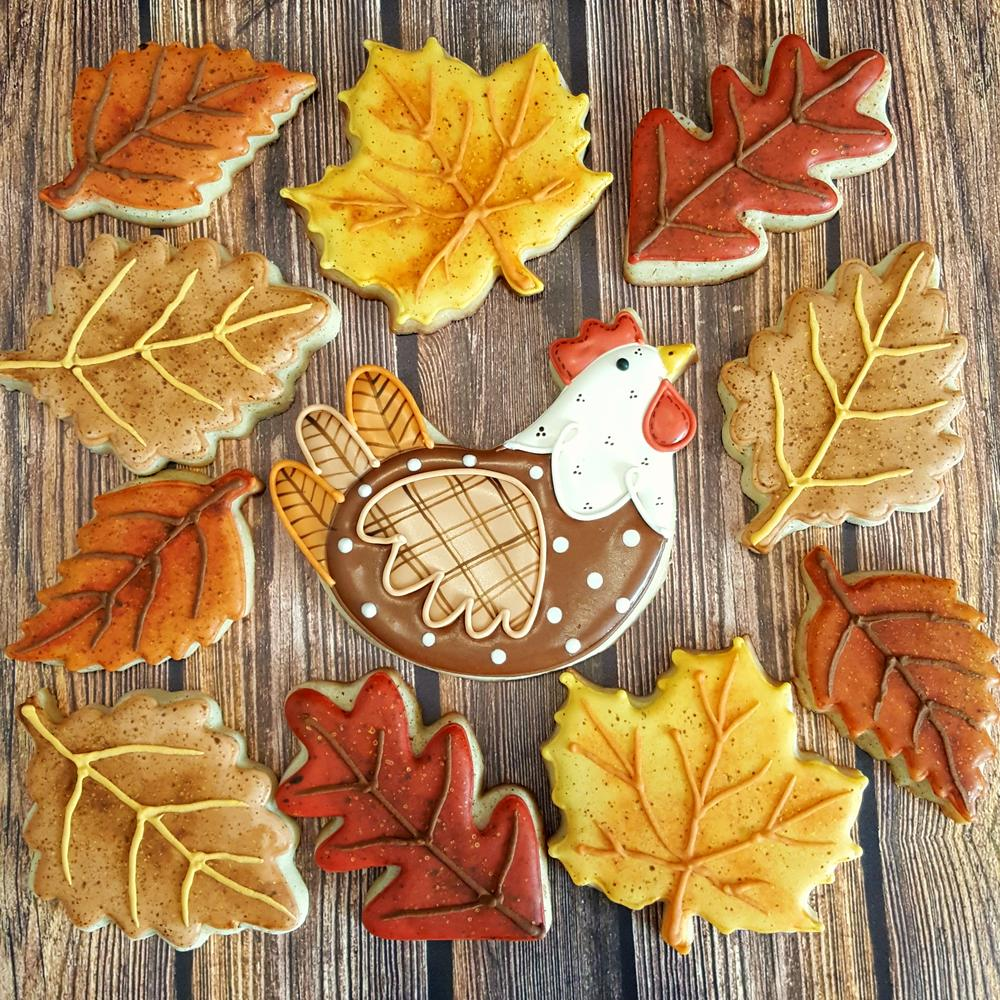 Vintage Thanksgiving and Autumn Set by Sweethart Baking Experiment