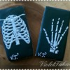 X-ray cookies Rib Cage and Hand