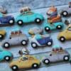 Animals driving cars