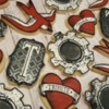 Tattoo Sugar Cookies by Sweethart Baking Experiment