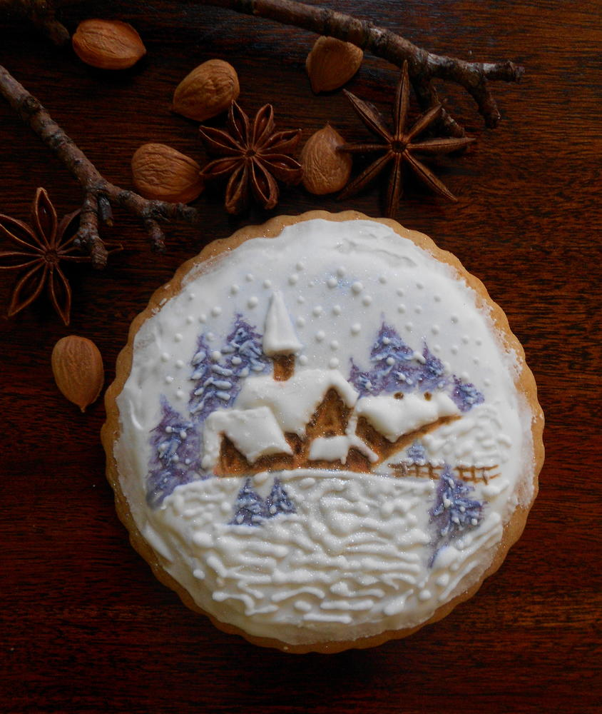winter cookie