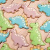 Pastel Dino Sugar Cookies by Sweethart Baking Experiment