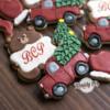 Christmas Truck and Bear