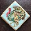 Handpainted Turkey