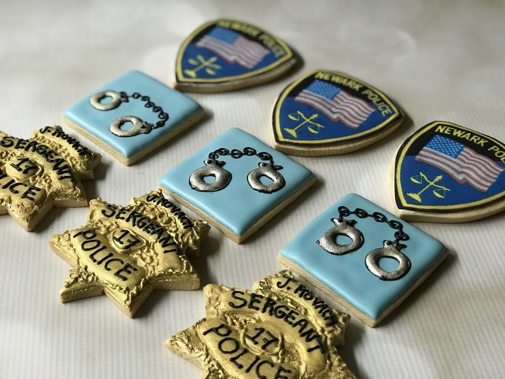 Police Retirement  Cookies