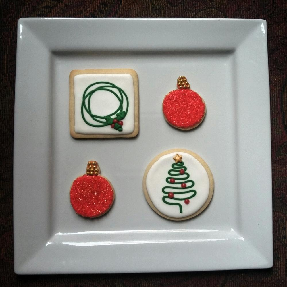 Abstract Christmas Cookies