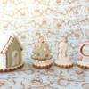 Miniature Christmas house